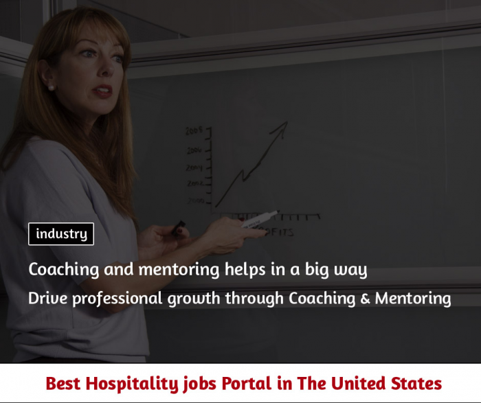 Drive professional growth through Coaching & Mentoring