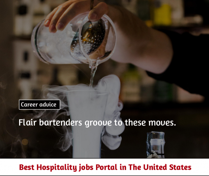 Four moves that keep bartenders moving