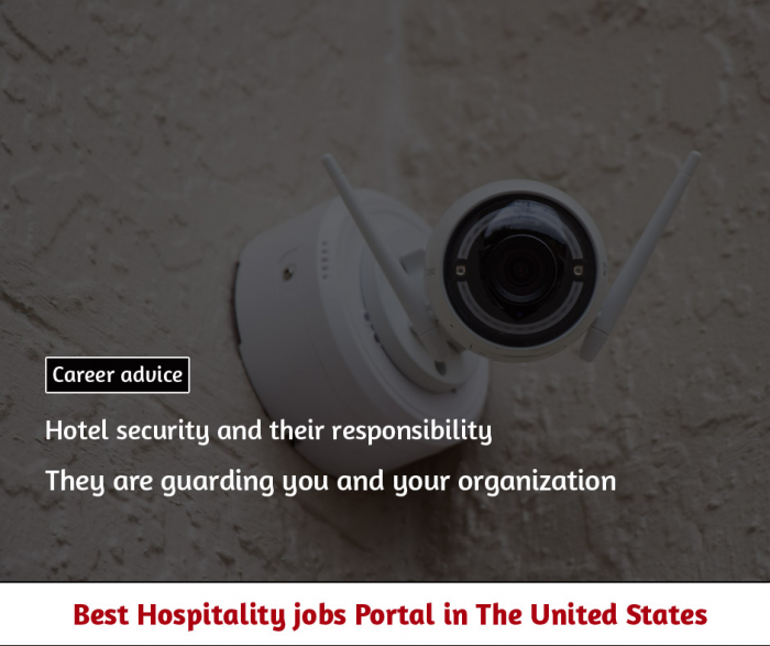 Hotel security and their responsibility