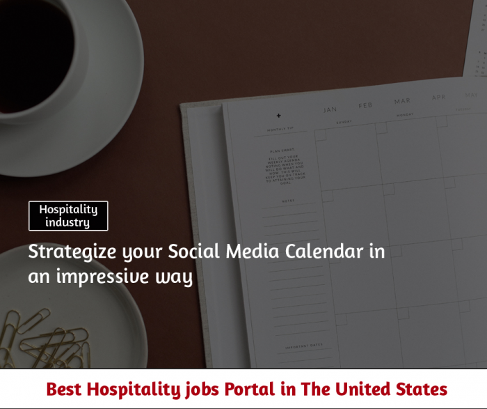 How to create a social media calendar for your restaurant business