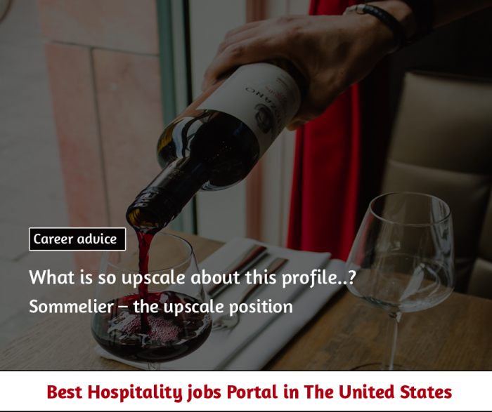 Sommelier – the upscale position