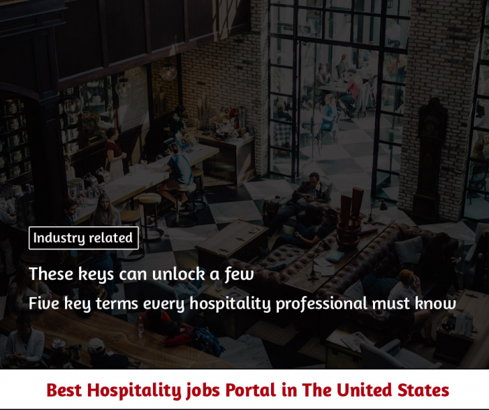 Five key terms every hospitality professional must know