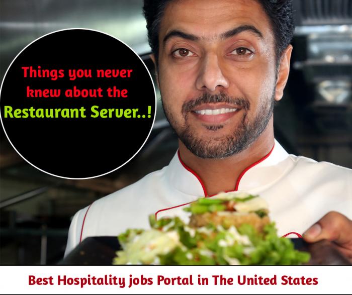 Skills for a Modern Day Restaurant Server Job