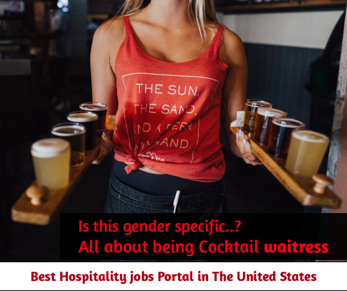 What do you need to be a  cocktail waitress?